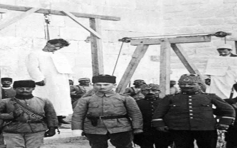 .. ضحايا أرمنيون على المشانق