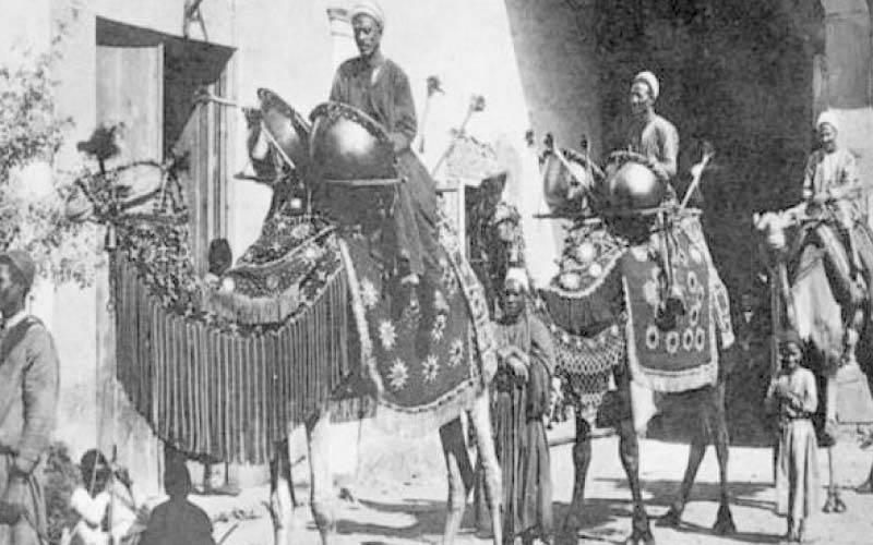 قرع الطبول لإخبار الشعب المصرى بدخول رمضان عام 1901