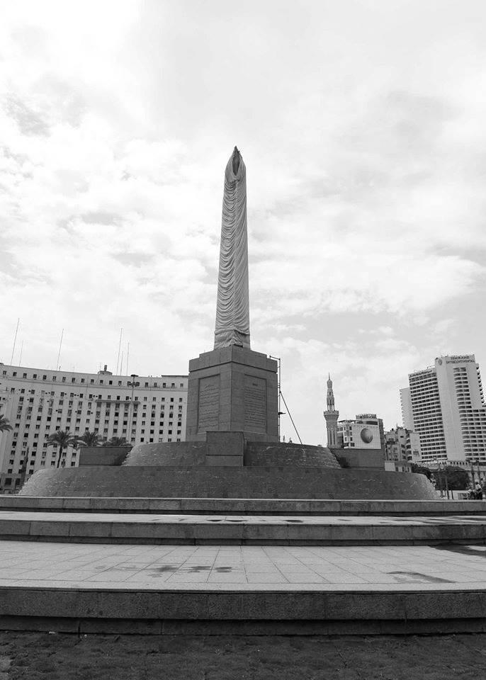 اللمسات الأخيرة لميدان التحرير بعد تطويره تمهيدا للافتتاح قريبا